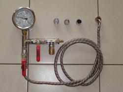 Druckprobe wasserleitung